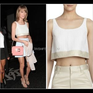 Rag & Bone Elsa Textured Crop Top